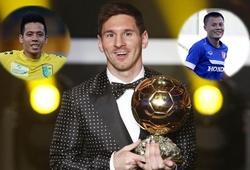Thành Lương, Văn Quyết ủng hộ Messi giành QBV