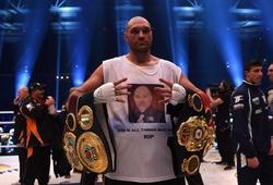 Tyson Fury phớt lờ 80 triệu bảng tái đấu Klitschko để...nghỉ hưu