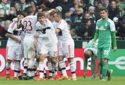 Cúp QG Đức, 01h30 ngày 20/04, Bayern -Bremen: Tiếp tục mộng ăn ba