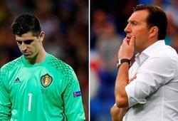 Thủ môn Courtois muốn tuyển Bỉ sa thải HLV trưởng