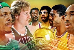 Những cặp đấu nhiều duyên nợ nhất tại chung kết NBA (kỳ 1)