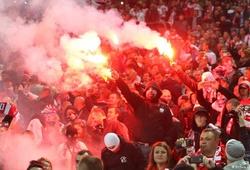Hooligan tiếp tục ám ảnh EURO: Nguy cơ đến từ CĐV Ba Lan