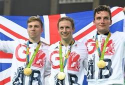 """Olympic 2016: Đội tuyển Anh bắt đầu đào """"mỏ"""" HCV đua xe lòng chảo"""