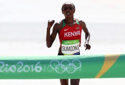HCV marathon Olympic Sumgong bị cấm thi đấu 4 năm vì doping