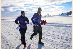 Phi thường: Người mù đầu tiên chạy 7 chặng marathon trong 7 ngày ở 7 lục địa