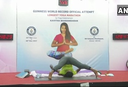 Tập Yoga không ngủ liên tục 175 giờ, bà mẹ một con thách thức cả thế giới