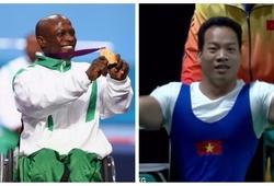 HCV Olympic Lê Văn Công giành HCV lập KLTG mới với mức tạ 183,5kg