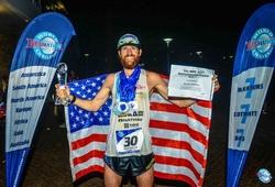 42 tuổi lập KLTG chạy marathon vòng quanh thế giới 7 ngày liên tiếp
