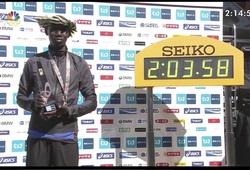 Tokyo Marathon: Wilson Kipsang trượt KLTG với ADIDAS adizero sub2