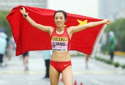 Trung Quốc lập KLTG mới đi bộ 50km ở giải VĐTG