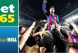 """""""Bẻ cong"""" lịch sử, Barca được nhà cái chọn làm ứng viên VĐ số 1"""