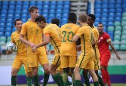 Video kết quả: Thắng Syria, U23 Australia gửi lời thách thức tới U23 Việt Nam