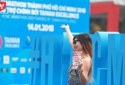Không khí sôi động trước giờ HCMC Marathon 2018 khởi tranh
