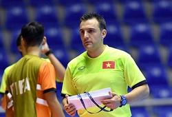 ĐT Futsal Việt Nam tập kín trước trận đấu với Italia