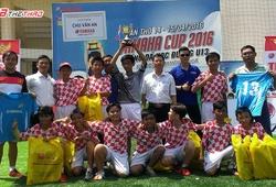Festival bóng đá học đường U.13 Yamaha 2016: Bất ngờ THCS Chu Văn An