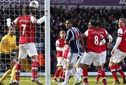 Premier League, 01h45 ngày 22/04, Arsenal - West Brom: Sân vắng vì đội nhà trắng tay