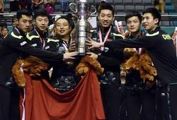 Trung Quốc lại thống trị bóng bàn thế giới