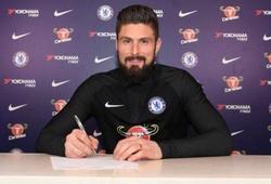 Chuyển nhượng ngày 31/1: Chelsea đã có Olivier Giroud