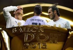 """Real Madrid giành """"Quả bóng Chì 2015""""!"""