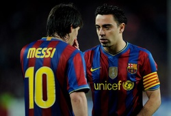 Thông điệp đầy cảm xúc của Xavi gửi tới Lionel Messi