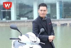 MC Phan Anh sở hữu Honda SH300i chính hãng đầu tiên tại Việt Nam