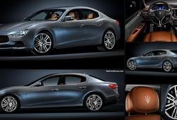 """""""Mổ xẻ"""" xe sang Maserati Ghibli S Q4 của Hồ Ngọc Hà"""