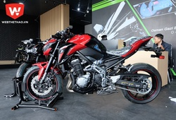 Kawasaki Z900 phiên bản 2018 giá gần 300 triệu đồng tại Việt Nam