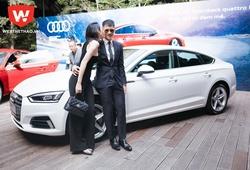Công Vinh và Thủy Tiên làm đại sứ Audi A5 Sportback tại Việt Nam