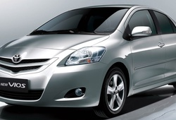 Toyota Việt Nam triệu hồi 20.000 xe Yaris và Vios do lỗi túi khí