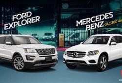 Infographic: So sánh Ford Explorer và Mercedes-Benz GLC300