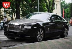Xế siêu sang Rolls-Royce Wraith dạo phố Hà Nội