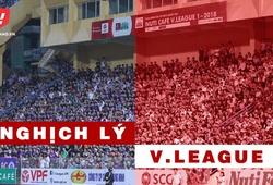Nghịch lý V.League: Thẻ đỏ, bản lý lịch khủng hay chuyện ngỡ ngàng vì sân đông
