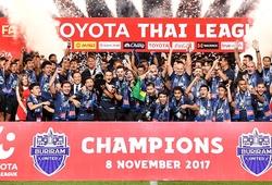 Doanh thu của ĐKVĐ Thai League 2017 hơn cả 1 nhiệm kỳ 3 năm VPF