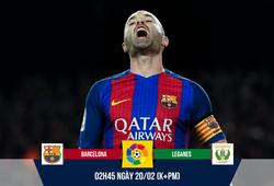 "Barcelona - Leganes: Iniesta ""biến mất"", chất La Masia thoái trào"