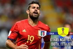 Italia - Tây Ban Nha: Diego Costa xóa ác mộng ở La Roja
