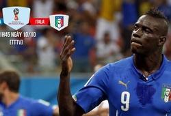 Macedonia - Italia: Azzurri lại thấy nhớ Balotelli