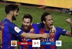 Messi thăng hoa trước Alaves, Barcelona đoạt Cúp Nhà vua