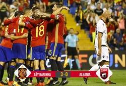 Video: Thắng trong 26 phút, Tây Ban Nha đoạt vé dự World Cup