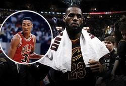 LeBron hạ gục huyền thoại Bulls, dẫn đầu chỉ số steal ở playoffs