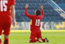 Quang Hải nghẹn ngào dành tặng bàn thắng cho bố nuôi