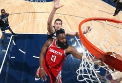 Kết quả NBA 19/03: Rose trở lại, Rockets xây chắc ngôi đầu