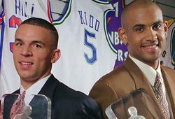 NBA từng 3 lần trao cùng lúc 2 giải Tân Binh Của Năm
