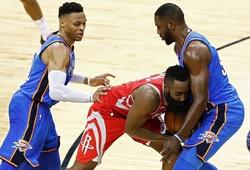 Kết quả NBA 08/04: Big-3 ghi 70 điểm, OKC vượt qua Houston Rockets