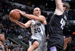 Kết quả NBA 10/04: Manu Ginobili đưa Spurs đến vé Playoffs thứ 21