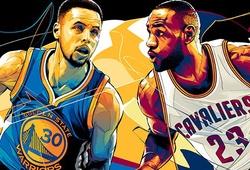 NBA Playoffs 2018: 16 đội và 2 miền Đông Tây, ai sẽ gặp ai?