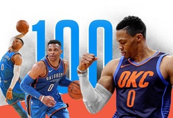 Russell Westbrook: 100 Triple-Double và những con số lịch sử