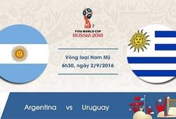Link xem trực tiếp trận đấu giữa Argentina và Uruguay