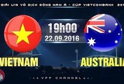 Link xem trực tiếp trận U.19 Việt Nam vs U.19 Australia