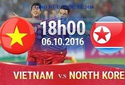Xem trực tiếp trận Việt Nam vs CHDCND Triều Tiên