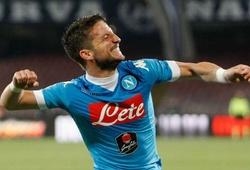 Mertens lập hat-trick, Napoli đánh tennis với Bologna